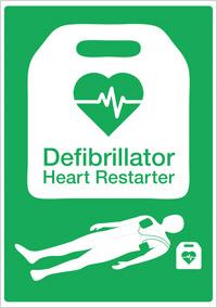 New Defibrillator Signage